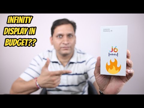 Samsung Galaxy J6(2018) Unboxing & First Look
