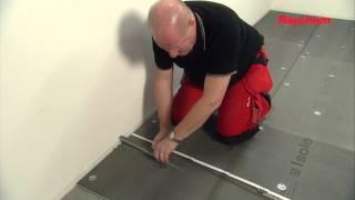 NL - T2 QuickNet & Isolecta op betonnen ondervloer