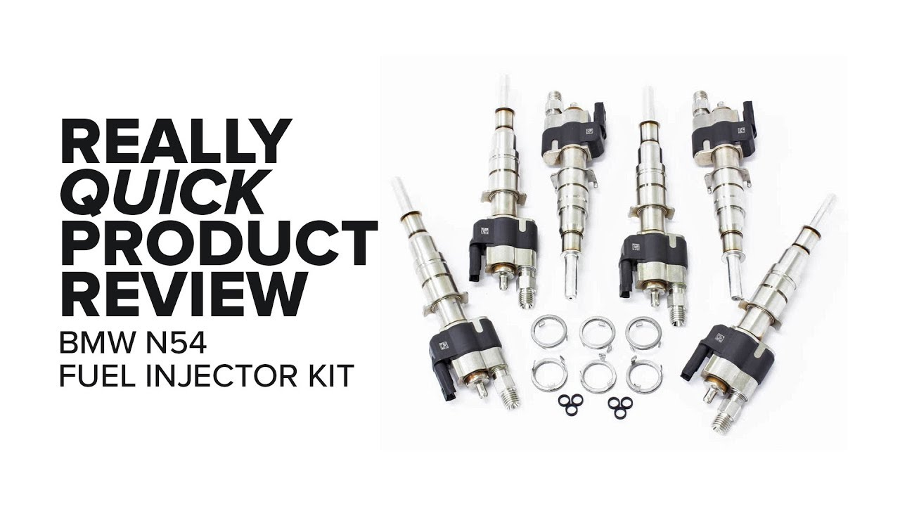 BMW N54 Fuel Injectors - Features, Fitment and Product Review