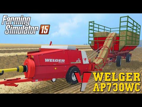 Farming Simulator 2015 WELGER AP730WC Baler