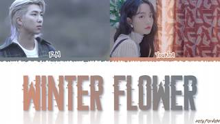 YOUNHA - 'WINTER FLOWER' (雪中梅) feat BTS RM Lyrics [Color Coded_Han_Rom_Eng]