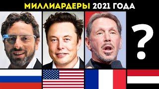 САМЫЕ БОГАТЫЕ ЛЮДИ в МИРЕ 2021 ГОДА | Топ миллиардеров