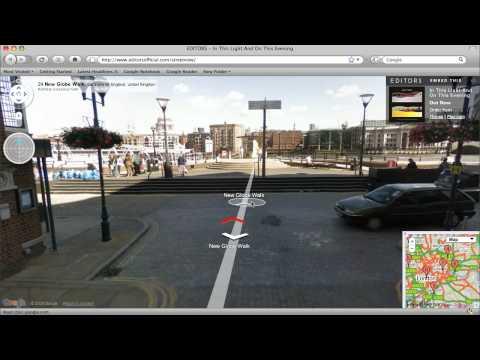 Editors hack Google Street View in London