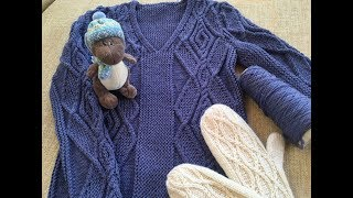 Зимнее вязание. Готовимся к весне.