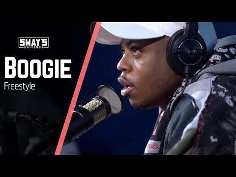 Boogie Freestyles on Sway In The Morning | SWAY'S UNIVERSE