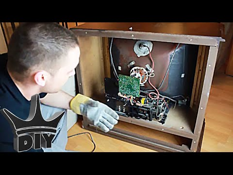 how to remove the stand of a teac tv