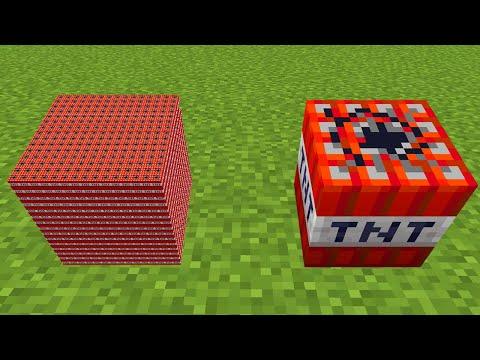 4096 mini tnt vs 1 normal tnt