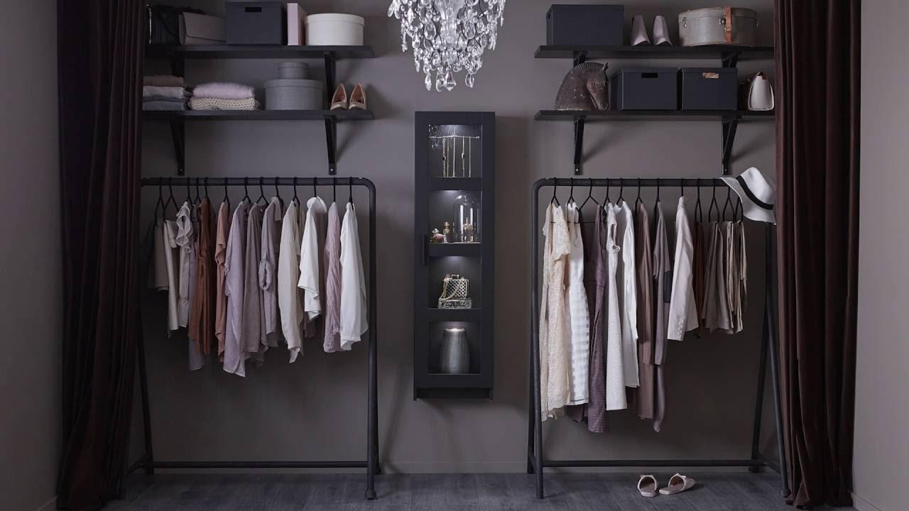 Offener Kleiderschrank Für Modefans
