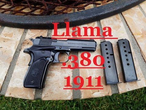 llama III-a MicroMax mini 1911  380acp
