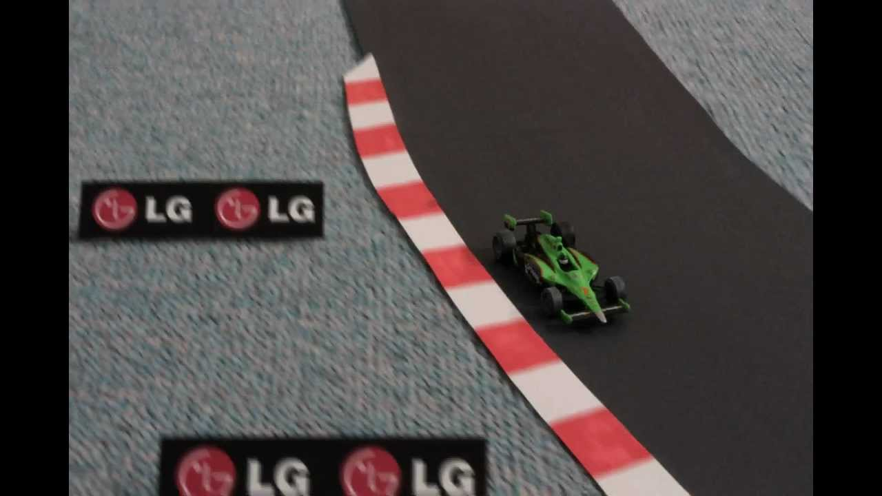 Moving Camera Stop Motion Racing Car Silverstone Cable Camera