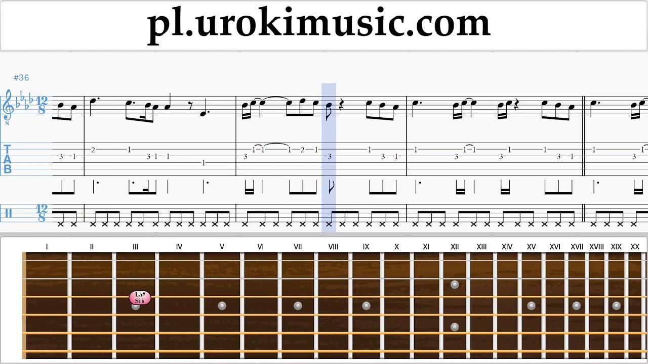 Groovy Nauka Gry Na Gitarze Ed Sheeran - Perfect Nuty Poradnik um-i463 TW78