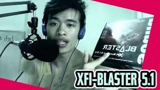 review sound card rời blaster xfi suround 5 1 pro sbx prostudio