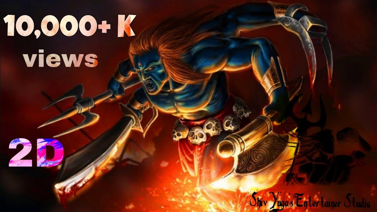 Lord Shiva 3d Animation Hd 2k Vfx Motion Video Shiv Yuga S