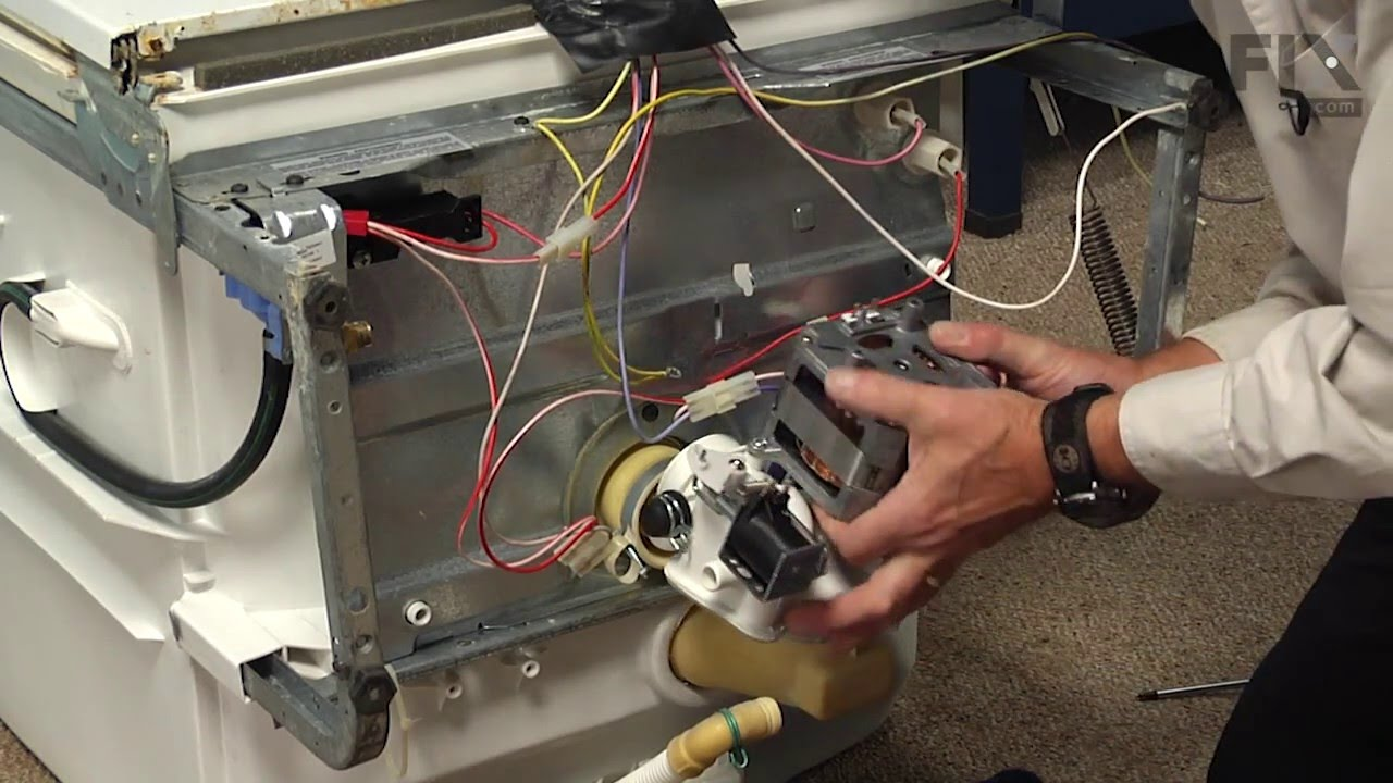 General Electric Dishwasher Troubleshooting General Electric Dishwasher Repair How To Replace The Motor And