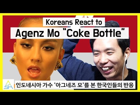 "Koreans React to Indonesian Song : Agnez Mo ""Coke Bottle"" [ASHanguk]"