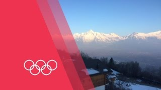 Olympics: The Hub - Training, Amazing Views and Athletes Pets | 03/16/2015