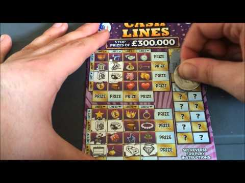 NEW SCRATCHCARDS #3 (CASH LINES!)