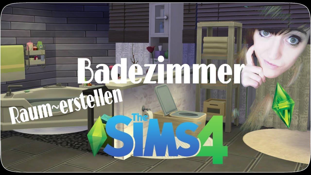 Die Sims 4 Let´s Build a Room   ♡Badezimmer♡ Bauen & Einrichten ...