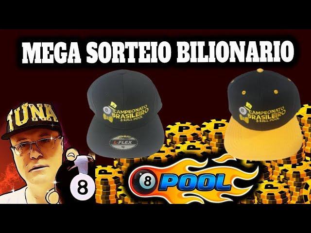 SORTEIO DE CONTAS 8 BALL POOL