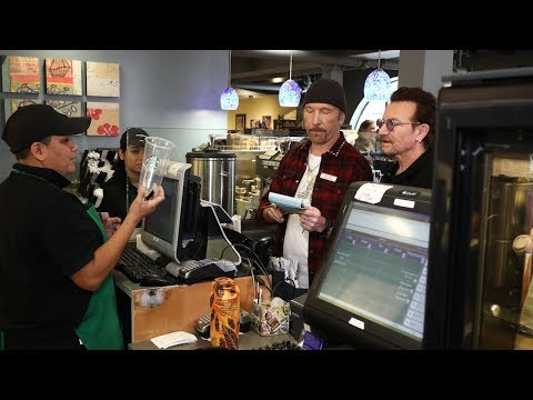 Bono & The Edge Are Ellen's Assistants for the Day, Part 2