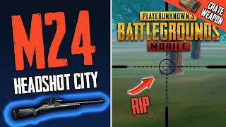 MY NEW FAVORITE WEAPON IN PUBG MOBILE - HEADSHOT CITY!