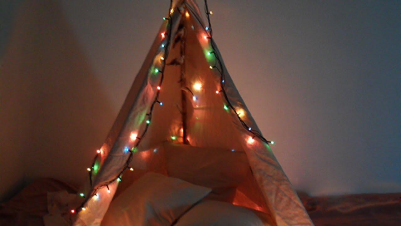 Fare Le Tende In Casa.Crea Una Divertente Tenda Da Campeggio In Casa Fai Da Te Casa Guidecentral