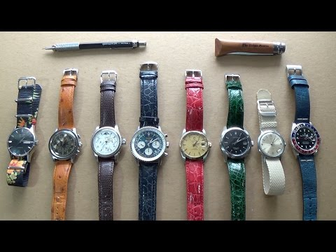 Best Watch Straps For Autumn 2016  Stylish, Classy & Luxury Choices Competition Results