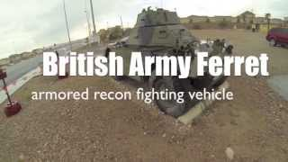 British Army Ferret: armored recon fighting vehicle
