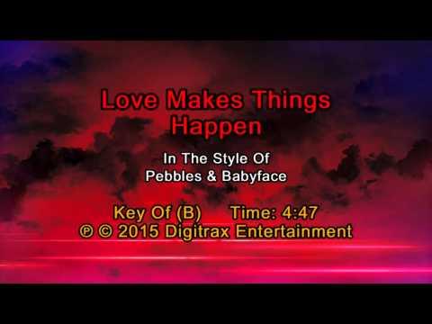 Pebbles & Babyface - Love Makes Things Happen (Backing Track)