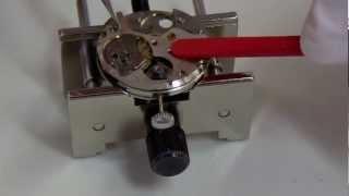 SEIKO Watch Repairセイコー機械式手巻時計オーバーホール組み立て編香箱分解 thumbnail