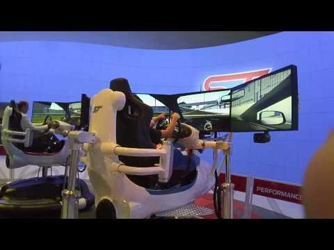FORD ST Driving Simulator at the LA AUTO  2013 via LOOXCIE HD