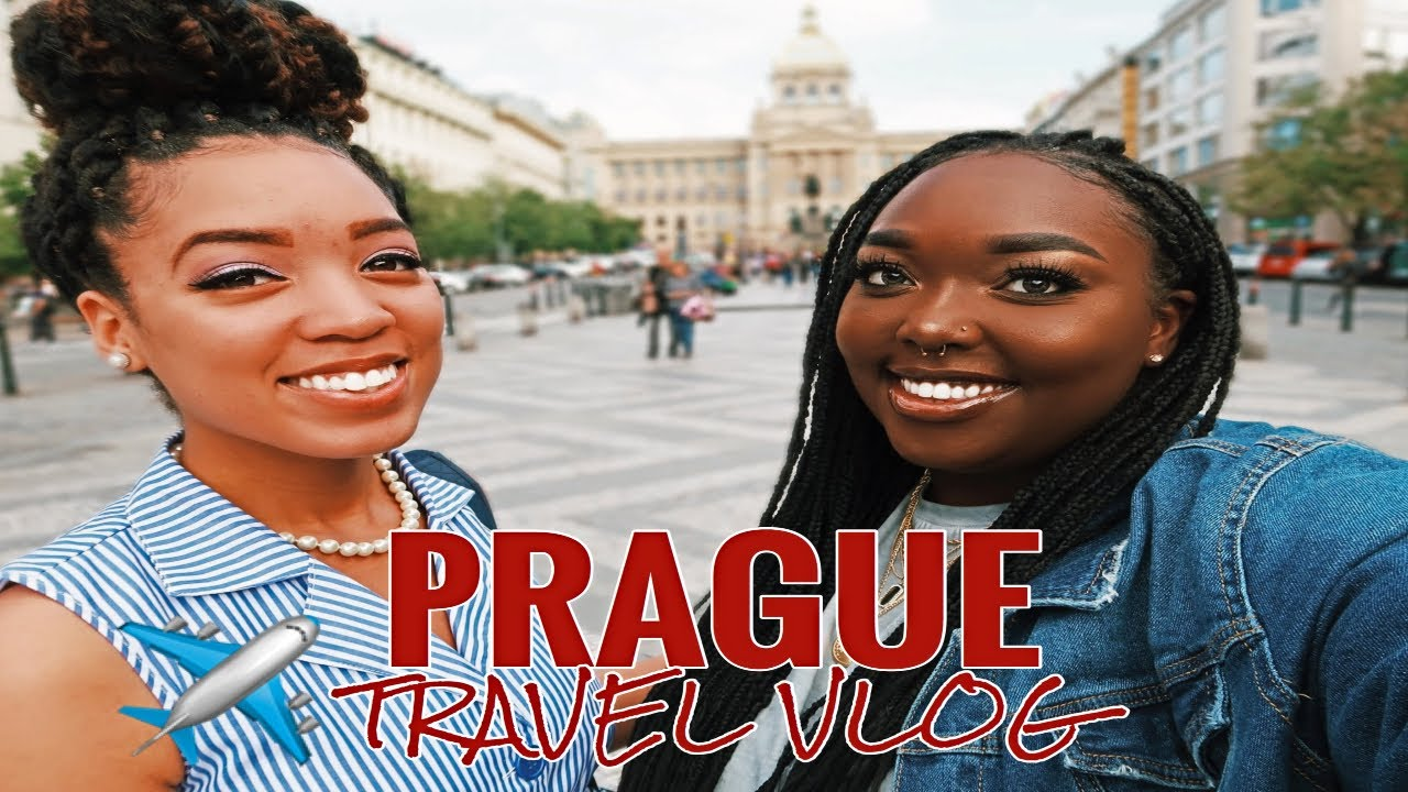 We're the ONLY Black People in Prague?!? | Travel Vlog
