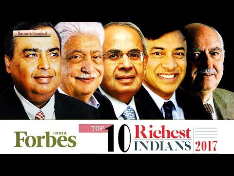 Forbes India Rich List 2017