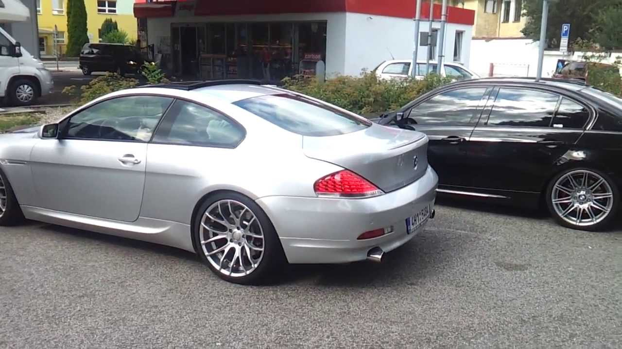 bmw 645ci sound exhaust youtube. Black Bedroom Furniture Sets. Home Design Ideas