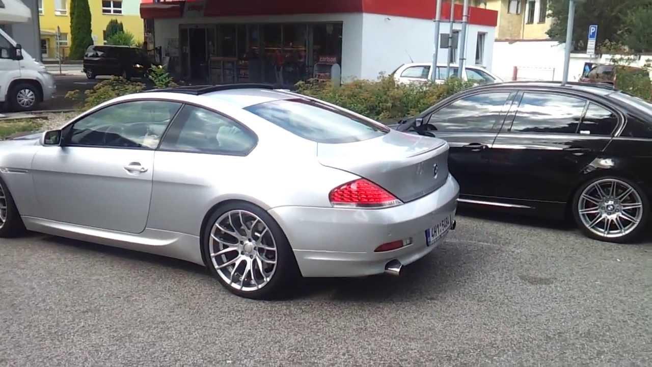 BMW Ci Sound Exhaust YouTube - 645i bmw