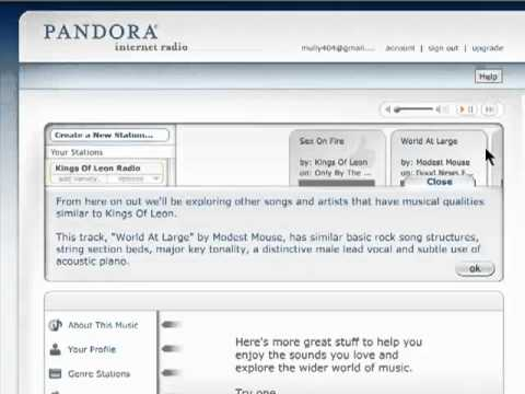 How to create a music station with Pandora