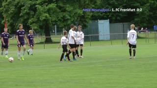 MSV Neuruppin – 1. FC Frankfurt 2:5 (C-Junioren-Brandenburgliga)