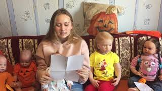 Обложка на видео о Приехала домой. Осеннее настроение! Видео с куклами реборн.