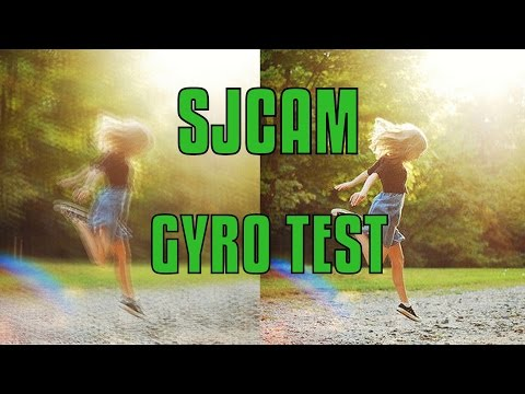 GYRO TEST SJ6 LEGEND VS SJ5000X ELITE