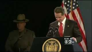 Gov. Cuomo Unleashed on Gun Control During State of the State Address - 1/9/13