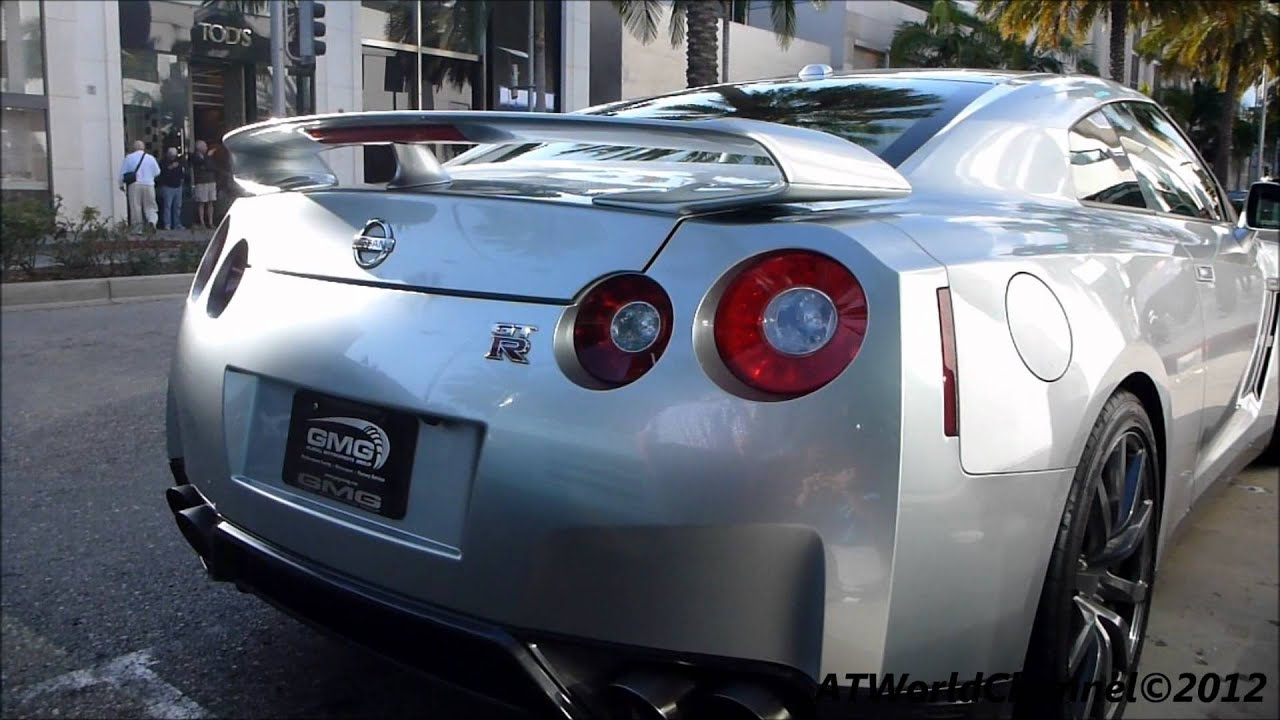 2013 Nissan GTR R35 Engine Sound, (Exhaust System) Small Acceleration U0026  Walkaround Footage 1080p HD   YouTube