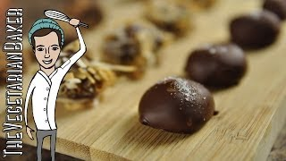 How To Make Vegan Chocolate Truffles (thevegetarianbaker)