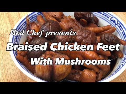 Cider-Braised Chicken and Mushrooms