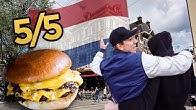 Jakten på BÄSTA hamburgaren i Amsterdam!