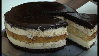 "Торт ""Птичье молоко""   Рецепт без желатина. Безумно вкусно/Cake ""Bird's milk"""