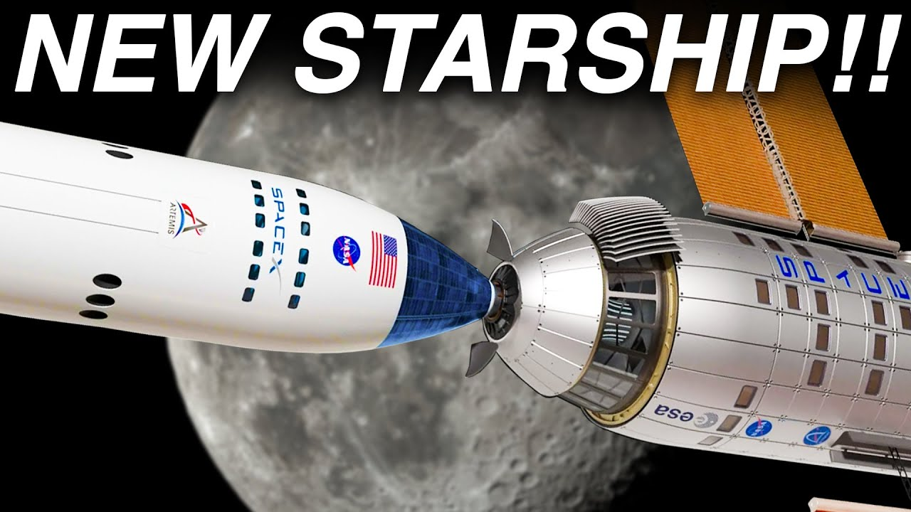 SpaceX Insane New Starship to Finally Land on Moon!!