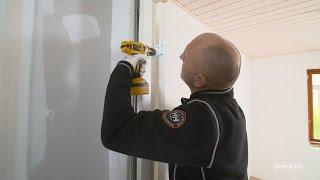 Montering af dør og dørkarm. Sådan udskifter du selv døre og dørkarme