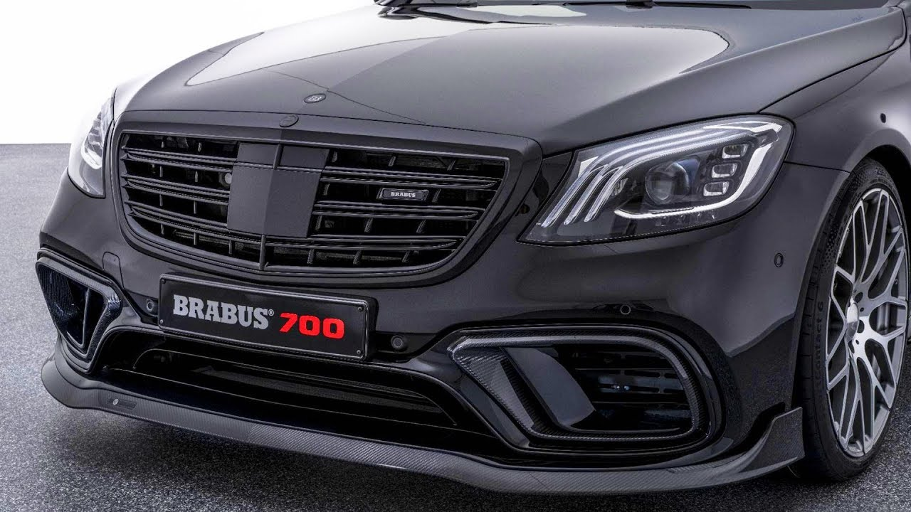 BRABUS 700 based on Mercedes-AMG S 63 facelift - YouTube