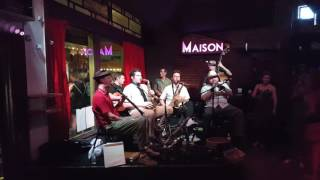 Smoking Time Jazz Club at Maison, Frenchmen Street in New Orleans.