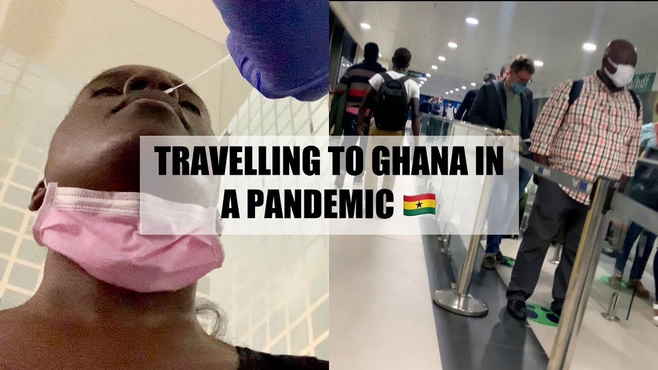 Travelling to Ghana in a Pandemic! - VLOG || Jazmine Abena